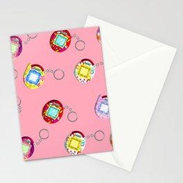 Tamagotchi Connection V2-Pink Stationery Cards