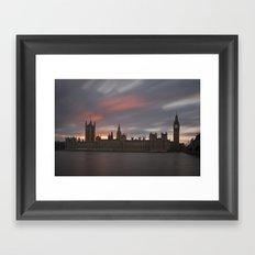 Houses of Parliament, London Framed Art Print