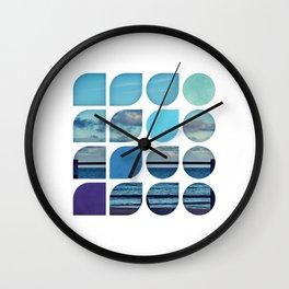 Cold Comfort Collage — Requiem Wall Clock