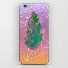 Galaxy Leaf iPhone Skin