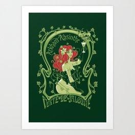 Arkham Absinthe Art Print