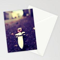 Alley stiletto Stationery Cards