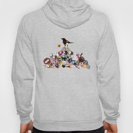 Magpie collector collage Hoody