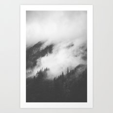 PNW Storm II Art Print