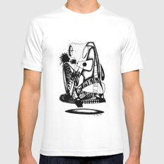 What you hold - Emilie Record Mens Fitted Tee MEDIUM White