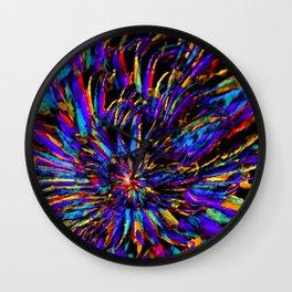 Mardi Gras - Celebration of Color Wall Clock
