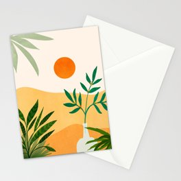 California Sunset Views Stationery Cards