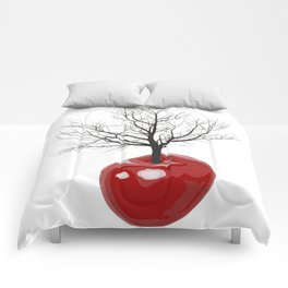 Cherry tree of cherries Comforters