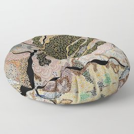 MMM Lizard Volcano Floor Pillow