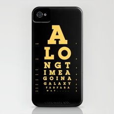 Jed Eye Chart iPhone (4, 4s) Slim Case