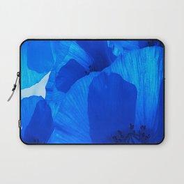 Blue Poppies #decor #society6 #buyart Laptop Sleeve