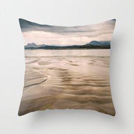 Beach and Mountains II Throw Pillow