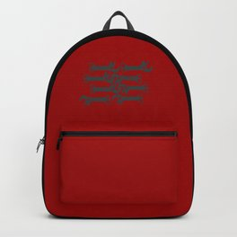 key! red Backpack