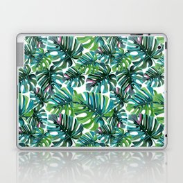 Elephant Tropical Leaves Pattern Laptop & iPad Skin