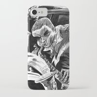 """band iPhone & iPod Cases featuring """"Milkbread"""" band poster by Logan  Faerber"""