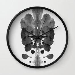 Form Ink Blot No. 31 Wall Clock