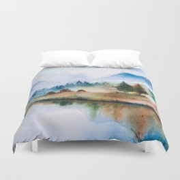 Winter scenery #16 Duvet Cover