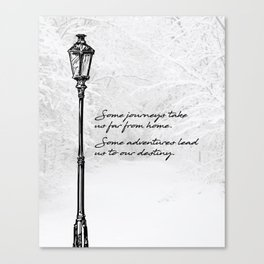 Chronicles of Narnia - Some adventures - CS Lewis Canvas Print
