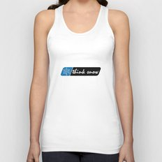 Think Snow Unisex Tank Top