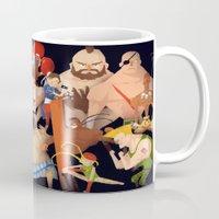street fighter Mugs featuring Street Fighter by Peerro