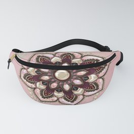 Wonderful noble mandala design Fanny Pack
