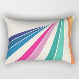Fan of Color Rectangular Pillow