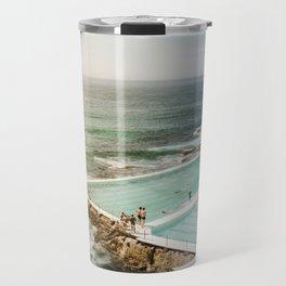 Bondi Icebergs Club   Bondi Beach Sydney Australia Ocean Coastal Travel Photography Travel Mug