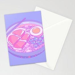 Pastel Ramen Stationery Cards