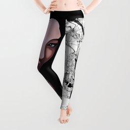 Black Geisha Leggings