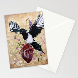 My wild heart Stationery Cards