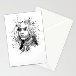 avril lavigne desain 001 Stationery Cards