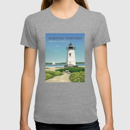Martha's Vineyard Edgartown Lighthouse T-shirt