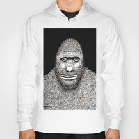 bigfoot Hoodies featuring Bigfoot by The Art of Filippo Borghi