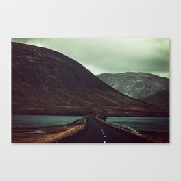 The Road Less Traveled Canvas Print