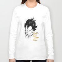 dragonball z Long Sleeve T-shirts featuring Dragonball Z - Pride by Straife01