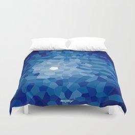 Pattern of Cinco Sapphire Duvet Cover