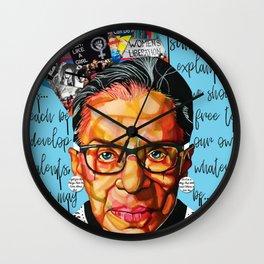 Ruth Ginsburg Wall Clock
