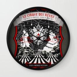 Night Circus Wall Clock