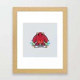 Monster Belgium 2014 Framed Art Print