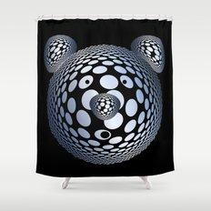 Bubble Bear Shower Curtain