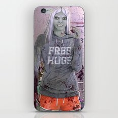 FREE HUGS iPhone & iPod Skin