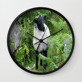 Irish Sheep Wall Clock