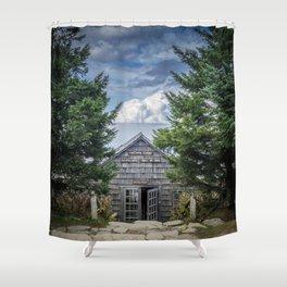 Break Time Shower Curtain