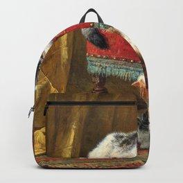 Henriette Ronner-Knip - Mother's Pride - Digital Remastered Edition Backpack