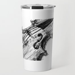 Black Violin Travel Mug