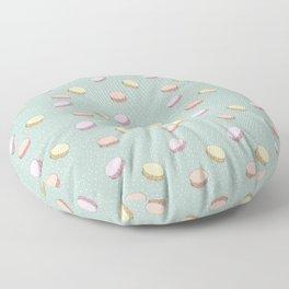 Pastel Macarons Floor Pillow