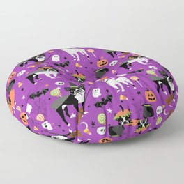 Boston Terrier Halloween - dog, dogs, dog breed, dog costume, cosplay cute dog Floor Pillow