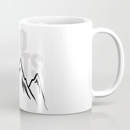 Jeep climb - No limits (Red) Coffee Mug