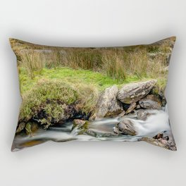 Tryfan Snowdonia National Park Rectangular Pillow