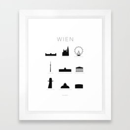Vienna Framed Art Print